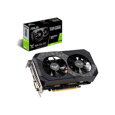 TARJETA DE VIDEO ASUS TUF GAMING GTX 1660S 6GB GDDR6 ,HDMI, DVI, DISPLAYPORT, PCIE 3.0, GTX1660S, 90YV0DT3-MVAA00